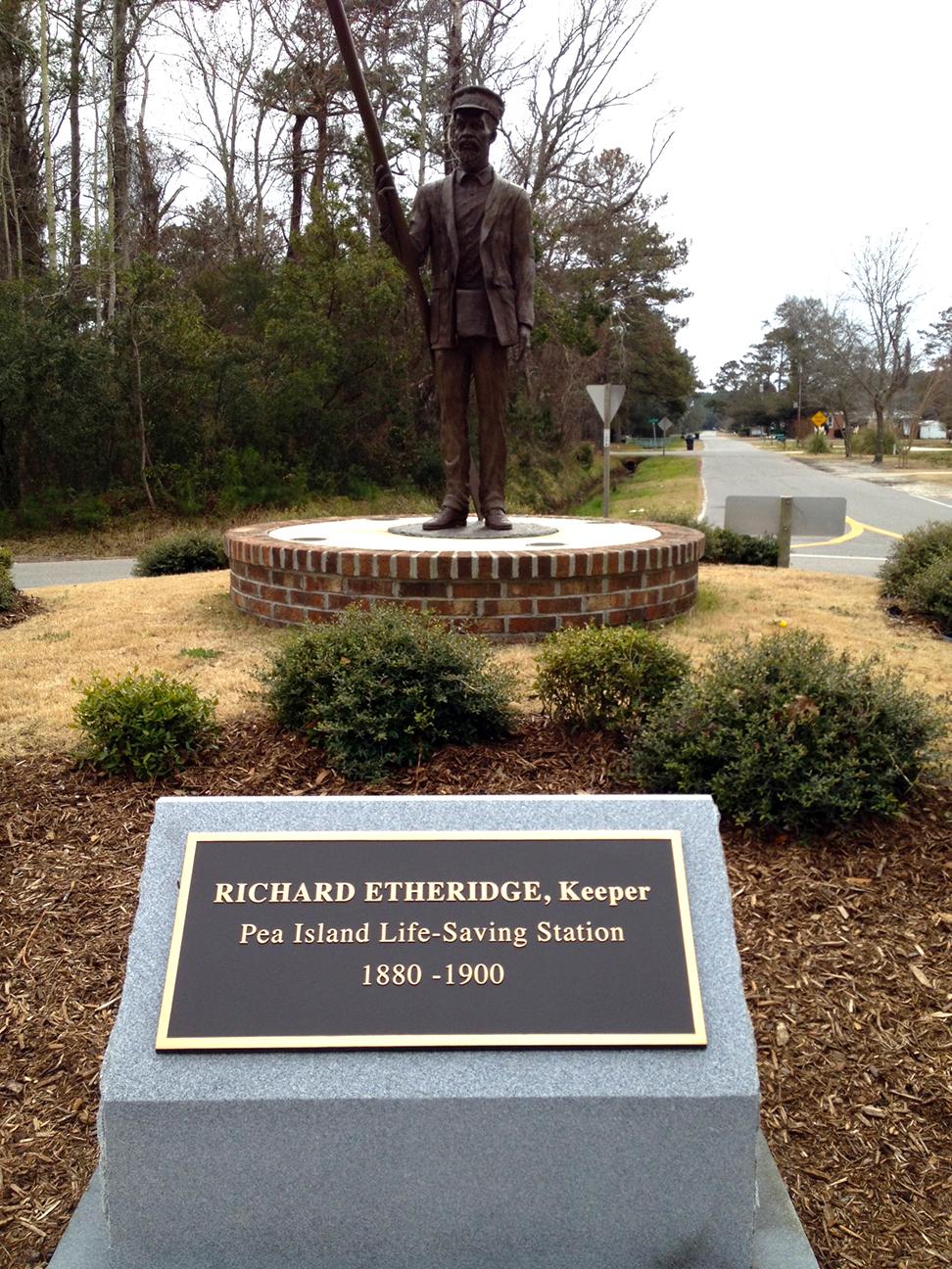 Commemorative Landscapes of North Carolina | Richard Etheridge ...